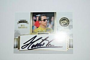 2012 Presspass Legends Helio Castroneves Auto Signed Autograph #72/150 Indy 500