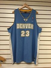 Vintage Denver Nuggets Marcus Camby Nike Basketball Jersey Size 3 Xl