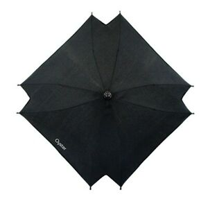 Babystyle Oyster Stroller Parasol Sun Shade Protection Umbrella - Smooth Black