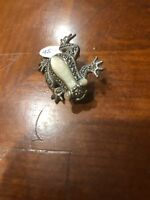 VINTAGE~*MARCASITE PIN*~STERLING SILVER~925~BROOCH~GORGEOUS!