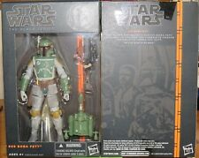 Star Wars Black Series #06 Boba Fett-no pobre falso - 100% Hasbro-perfecto Estado-Reino Unido ~ #