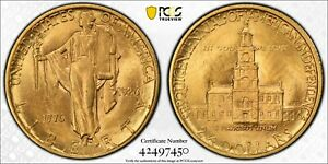1926 PCGS MS63 Sesquicentennial $2.5 Gold Commemorative
