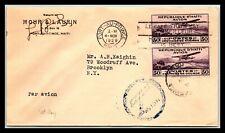GP GOLDPATH: HAITI COVER 1929 AIR MAIL _CV593_P01