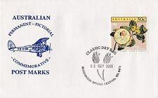 Permanent Commerative Pictorial Postmark - Mukinbudin 3 Sep 2003 - 50c