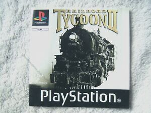 74361 Instruction Booklet - Railroad Tycoon II - Sony PS1 Playstation 1 (2000) S
