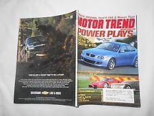 MOTOR TREND Magazine-AUGUST,2003-TRUCK DRIVING:FORD F-150 & NISSAN TITAN