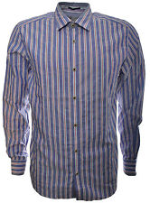 Ted Baker Men's Collared Fitted Cotton Casual Shirts & Tops