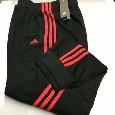 Womens Adidas Fitness Bottoms Jogging  Decadia Black Coral Pink Size XL New