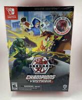 Nintendo Switch Bakugan: Champions of Vestroia Deluxe Edition Brand New Sealed