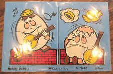 Conner Toy Vintage Wooden Puzzle Humpty Dumpty No 7544-7 6 Pieces