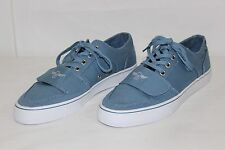 FREE SHIPPING Creative Recreation Mens Size 9 Blue Laces Canvas Shoes VERY NICE