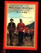 A MILITARY HISTORY OF IRELAND, Bartlett/Jeffery,  1st UK  HBdj VG