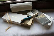 "PELIKAN Souveran M600 Turquoise White SPECIAL EDITION ""B"" 14k Nib MINT IN BOX"