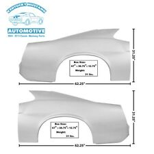 Mustang Dynacorn Fastback Full Quarter Panels Pair 1970