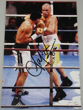 ANTHONY MUNDINE Hand Signed 8'x12' Photo