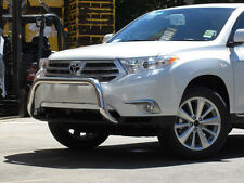Toyota KLUGER 09/10 - 11/13 Low Loop Alloy Nudge Bars