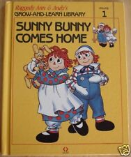 Raggedy Ann Sunny Bunny Comes Home HB 1988 NEAR MINT