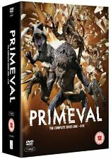 PRIMEVAL Series 1-5 SEALED/NEW primevil prime evil Season 55014138606718 + 2 3 4