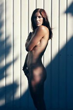 """019 Hope Solo - USA Soccer Top Goalkeeper Star 14""""x21"""" Poster"""