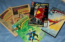 SUPERMAN Comics /Died and Back Issues/-Real Collectible