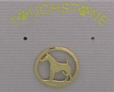 Fox Terrier Jewelry Smooth Fox Terrier Extra Small Pin by Touchstone