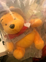 winnie the pooh plush toy happy meal mcdonald 6.5 inches unopened new