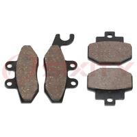 Front + Rear Ceramic Brake Pads 2010-2014 Vespa GTS 300 Set Full Kit ie ik