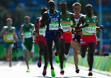 Paul Chelimo signed 8x12 inch photo autograph