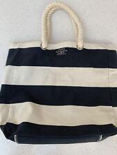 Polo Jeans Co Stripe Canvas Beach Bag