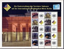 UN New York . 2006 Berlin Personalized Sheet . 84 cent . Mint Never Hinged