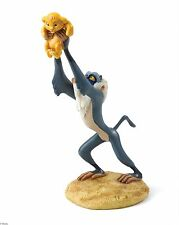 Disney Enchanting Lion King A King Is Born Rafiki Simba Figurine 16cm A27705