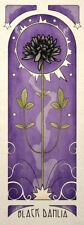Gothic Nouveau Wall Art Poster Print The Black Dahlia