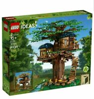 LEGO 21318 Ideas Tree House Model Challenging Creative Detailed Building Playset