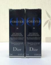 Dior Forever 24H Skin Caring Foundation 2 x 3ml 3N Neutral  - BNIB