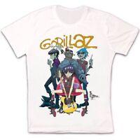 Gorillaz Band Alternative Hip Hop Rock Brit Band Blur Albarn Unisex T shirt 81