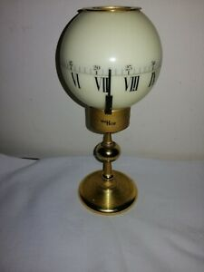 Rare and Unusual, Imhof  Luminous Table Clock  in Very Good Condition & Working.