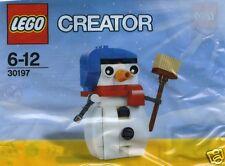 LEGO CREATOR 30197 Schneemann 60 Teile im Polybeutel Sammlerstück