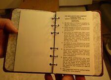 New listing Njzco New Jersey Zinc Safety Instruction Booklet Sterling Hill Mine Ogdensburg