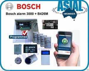 BOSCH ALARM Solution 3000 4 PIR's + Ethernet Module b426