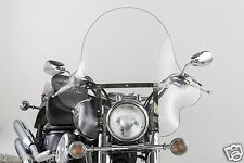 "VTX1300C Honda VTX1300 C - BIG 20"" CLEAR FALCON WINDSHIELD w/CHROME HARDWARE KIT"