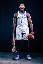 Duke Zion Williamson Art Wall Indoor Room Outdoor Poster - POSTER 24x36