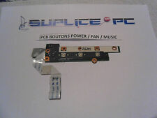 FS Amilo Pi 2530 - PCB BOUTONS POWER / FAN / MUSIC + NAPPE