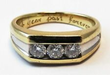 Ring Diamond 14k Yellow Gold Vintage & Antique Jewellery