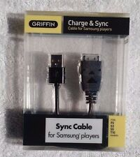 LOT OF 10 - Griffin Charge & Sync Cable for Samsung Players P2, S3, S5 and T10