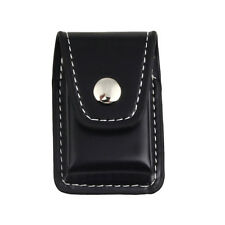 Fashion Geniune Leather Clip-On Lighter Sheath Pouch Case Holder