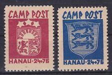 Camp post Hanau lot **, dt. ocupación WW II, correos frescos, mnh