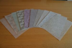 10 Assorted Sheets Patterned Vellum Set 3