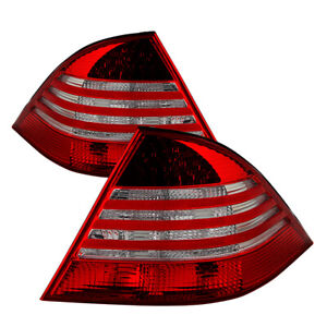 Mercedes-Benz 00-06 W220 S-Class Red LED Tail Lights S350 S430 S500 S600 S55 S65