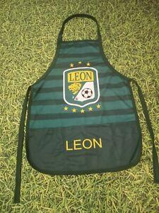 Club Leon fc la fiera Mandil Kitchen BBQ Apron One Size