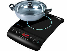 Electric Induction Hob Single Cooker Touch Control Timer LED PI 01 w/ POT NEW